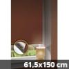 Hőszigetelő thermo mini roló, csokibarna, ablakra: 61,5x150 cm