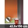 Hőszigetelő thermo mini roló, narancs, ablakra: 42,5x150 cm