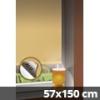 Hőszigetelő thermo mini roló, natúr, ablakra: 57x150 cm