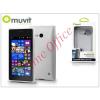 Muvit Nokia Lumia 730/735 hátlap - Muvit miniGel - transparent