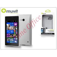 Muvit Nokia Lumia 730/735 hátlap - Muvit miniGel - transparent tok és táska