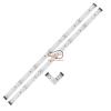 EGLO 92053 LED szalag szett 2x1,44W 12V fehér 2x30cm, távkapcsolóval