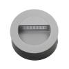 Lámpatest lépcső világító, LED 1,2W, DORA szürke IP65 Kanlux