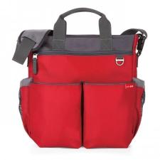 Skip hop Duo Signature pelenkázó táska - Red pelenkázótáska