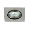 KANLUX Lámpatest álmennyezetbe illeszhető alu MR16 keret NAVI billenő matt króm CTX-DT10 Kanlux