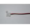 2 eres kábel egyik végén csatlakozóval 5050SMD LED szalagokhoz villanyszerelés