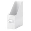 Leitz Iratpapucs, PPkarton, 95 mm, lakkfényű, LEITZ Click&Store, fehér