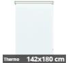Hőszigetelő roló, Thermo, fehér, ablakra: 142x180 cm lakástextília