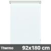 Hőszigetelő roló, Thermo, fehér, ablakra: 92x180 cm