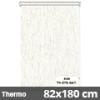 Hőszigetelő roló, Thermo, natúr, ablakra: 82x180 cm