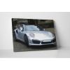 Szép szürke Porsche