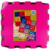 Színes 9 db-os habszivacs puzzle állatokkal