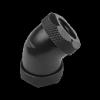 Nanoxia CF1 Fitting - CF1 Fitting - 45 ° merev csõ adapter ? 12 mm és 12 mm ?
