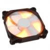 PHANTEKS PH F120SP 120mm fekete / fehér ventilátor - narancssárga LED -ekkel