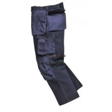 Portwest BP51 Boulder kontraszt varrású nadrág (FEKETE, S, Hosszított)