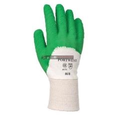 Portwest A171 Latex mártott kesztyű nyitott kézháttal (XL)