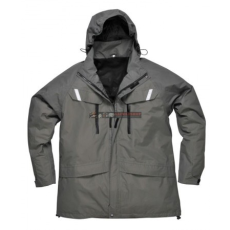 Portwest S537 Orkney 3:1 lélegző kabát (SZÜRKE S)