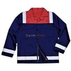 Portwest FR55 Antisztatikus kéttónusú kabát (NARANCS, S)