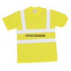 Portwest S478 Jól láthatósági póló (SÁRGA S)