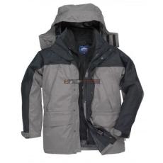Portwest S532 Orkney 3az1-ben lélegző kabát (SZÜRKE XL)
