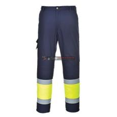 Portwest E049 Jól láthatósági kéttónusú nadrág (XL)