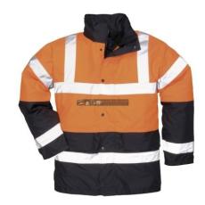 Portwest S467 Kéttónusú Traffic kabát (NARANCS L)