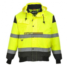 JCB JC60 HIGH VISIBILITY BOMBER JACKET XL
