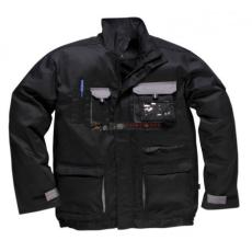Portwest TX10 Texo Kontraszt dzseki (FEKETE S)