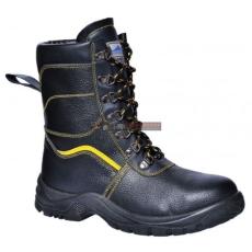 Portwest - FW05 Steelite szőrmebéléses védőbakancs S3 (FEKETE 43)