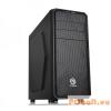 """Thermaltake Versa H25 Black Black,2x5,25"""",3+belső 3x3,5"""",ATX,1xUsb,Audio,Táp nélkül,429x209x478mm,1xUSB3.0"""