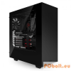 "NZXT Source 340 Mid Tower Black Black,3x3,5"",ATX,Window,Audio,Táp nélkül,200x445x432mm,2x2,5"",Ventillátor:12cm,2xUSB3.0"