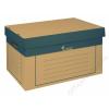 VICTORIA Archiváló konténer, 320x460x270 mm, karton, VICTORIA, natúr (IDVAKN)