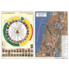Stiefel Könyökalátét, kétoldalas, A3, STIEFEL Katolikus egyházi év és Újszövetség térképe / Ószövetség (VTKA307)