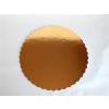 Tortakarton 30 cm arany fodros