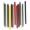 FELLOWES Spirál, műanyag, 12 mm, 56-80 lap, , 100 db, piros