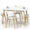 Halmar Lorrita Étkezőasztal Fehér