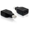 DELOCK Adapter Displayport mini male > Displayport female 65238