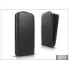 Haffner Slim Flexi Flip bőrtok - Samsung SM-E700F Galaxy E7 - fekete