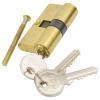 Hengerzárbetét, 30/30 mm, réz, 3 kulcsos, Flame (Zárbetét)