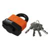 Extol Lakat, laminált, vízálló, 4db kulcs; 40mm, kengyelszárátmérő:8/12mm (Lakat)