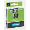 """DYMO Feliratozógép szalag, 9 mm x 7 m, DYMO """"D1"""", kék-fekete"""