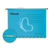"""ESSELTE Függőmappa, gyorsfűzős, újrahasznosított, karton, A4, ESSELTE """"Classic"""", kék"""