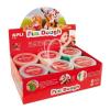 "APLI Gyurma, 480 g, APLI, ""Fun Dough"" display, különleges színek"