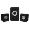 Approx 2.1 Multimédia Mini Hangszóró Szett 12W, Fekete - APPSP21M