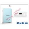 Samsung hordozható, asztali gyári akkumulátor töltő - EB-PG850BLEGWW Power Bank - 8400 mAh - blue