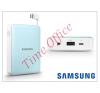Samsung hordozható, asztali gyári akkumulátor töltő - EB-PG850BLEGWW Power Bank - 8400 mAh - blue mobiltelefon akkumulátor
