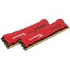 Kingston HyperX Savage 8GB 1866MHz DDR3 memória Non-ECC CL9 Kit of 2