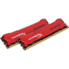 Kingston HyperX Savage Red 16GB (2 x 8GB) memória, DDR3, 1866MHz, CL9, 1.5V  (HX318C9SRK2/16)