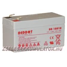 REDDOT 12V 1,2Ah Zselés akkumulátor autó akkumulátor
