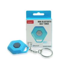 Bluetooth-os távirányító, világoskék mobiltelefon kellék
